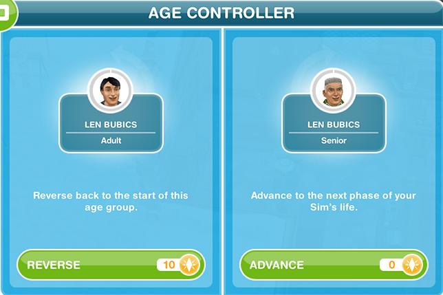 comment arreter de vieillir dans les sims 3