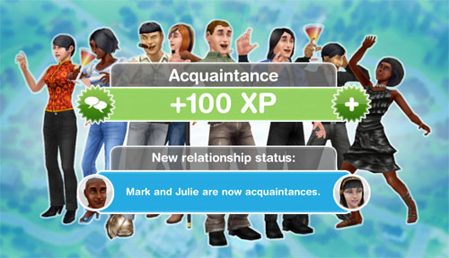 The sims freeplay form a dating relationship