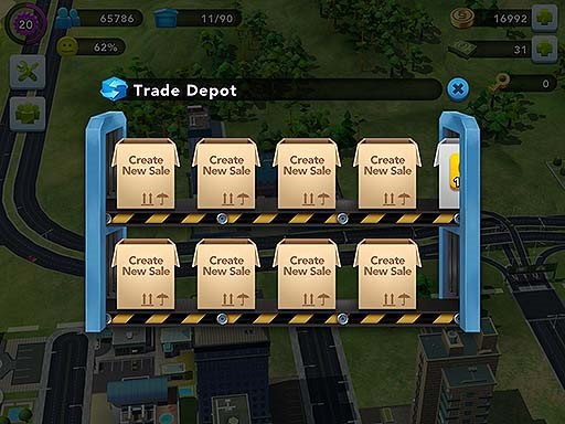 SimCity BuildIt - Buying, selling, shipping, and dealing in SimCity
