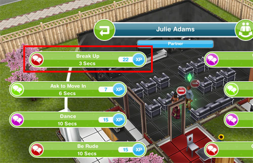 what are the relationship bases in sims freeplay
